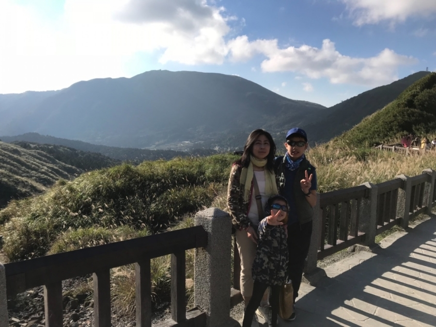 上週帶小孩去爬七星山順便吃聖誕大餐 😍 #親子旅遊 #美食