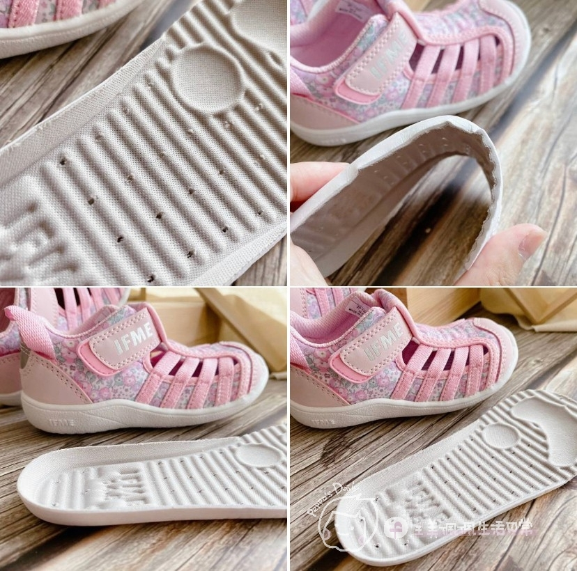 寶寶的第一雙日本IFME機能童鞋 夏天就該有一雙透氣水涼鞋_img_12