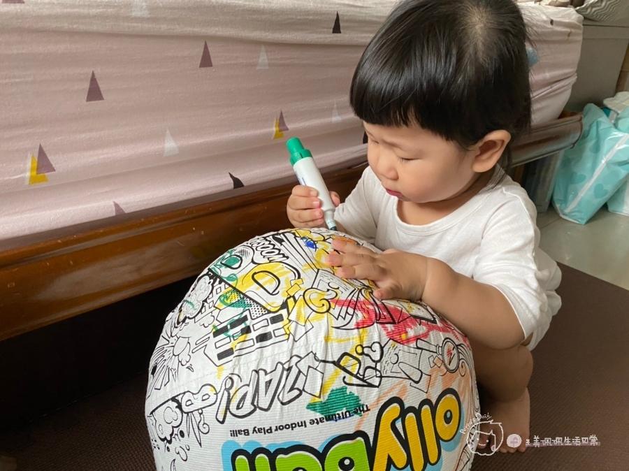 疫情期間孩子如何玩|親子放電遊戲,在家玩球超fun心!室內安心玩的玩具-美國歐力球_img_25