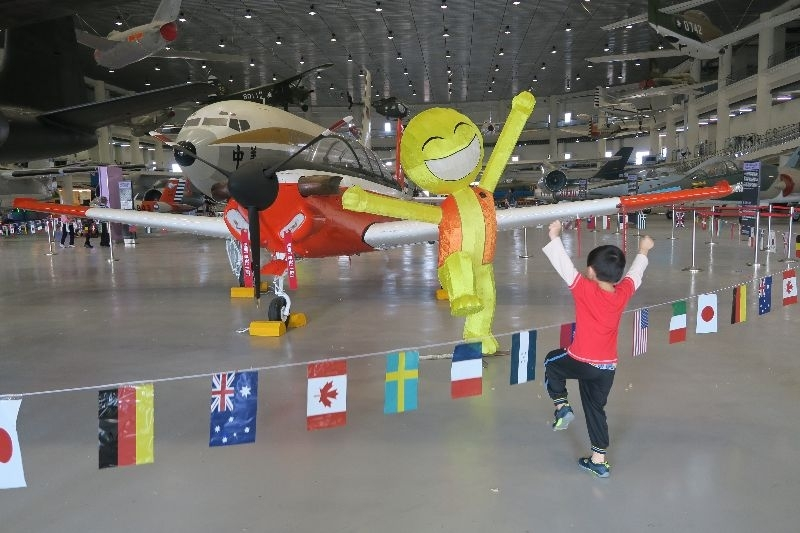 高雄 航空教育展示館 適合親子同遊的景點 歡迎大手牽小手一起來玩喔😃 #親子旅遊