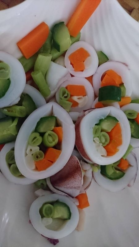 大魚大肉之餘,低脂肪配青菜的菜色,很適合中年婦女。 #年菜