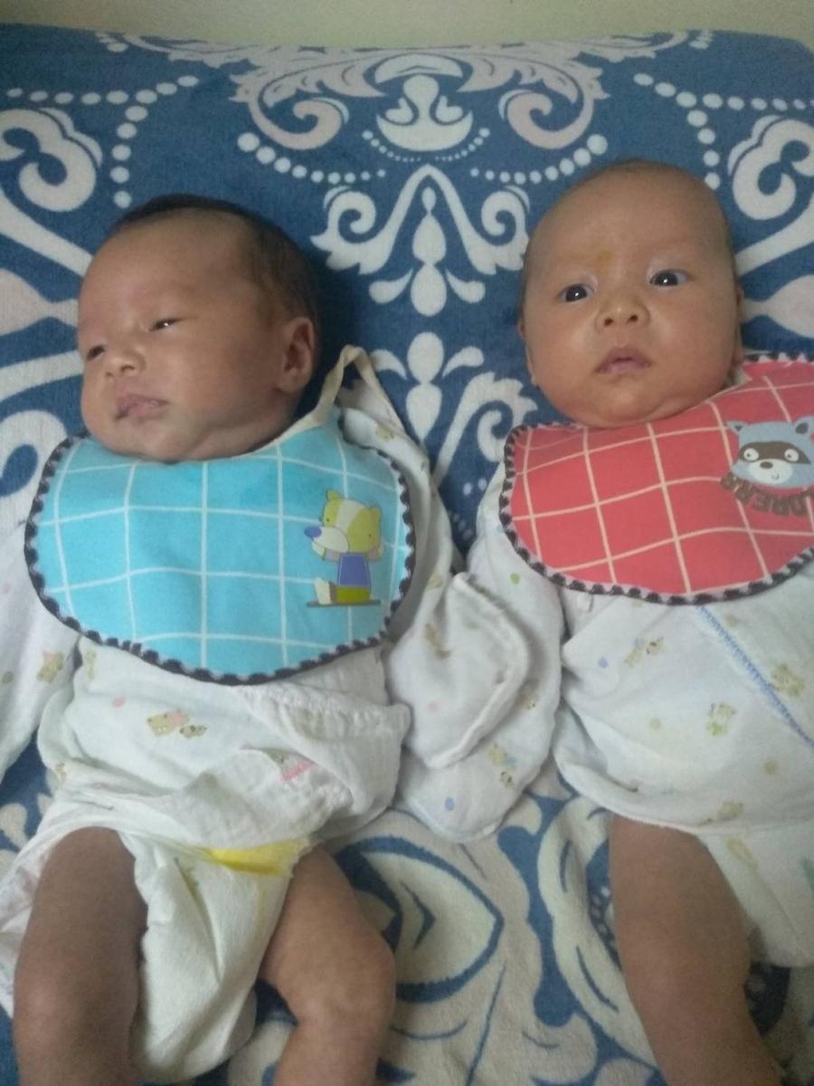第一胎就是雙胞胎