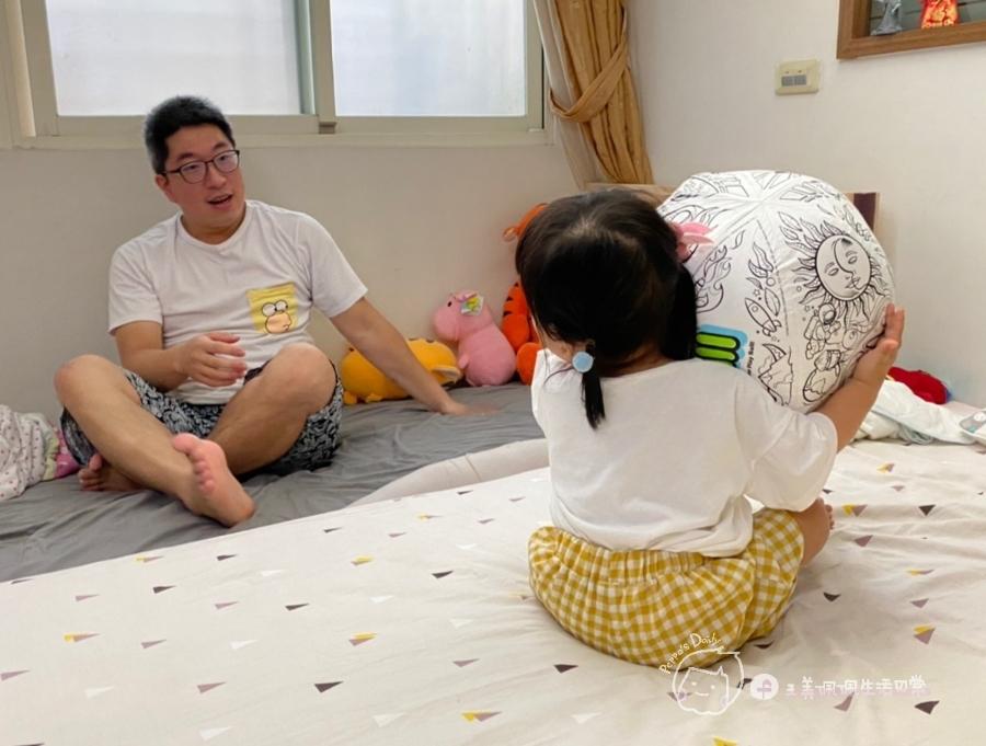 疫情期間孩子如何玩|親子放電遊戲,在家玩球超fun心!室內安心玩的玩具-美國歐力球_img_27
