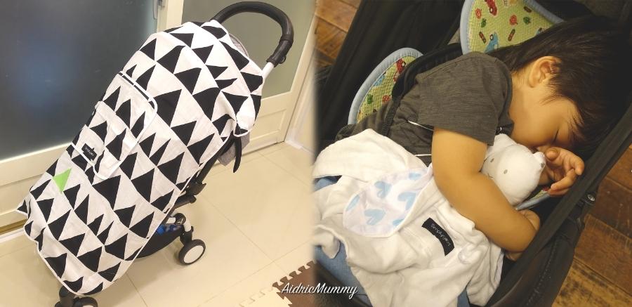 【育兒好物】以色列Simply Good寶寶用品,讓寶寶外出都好眠。