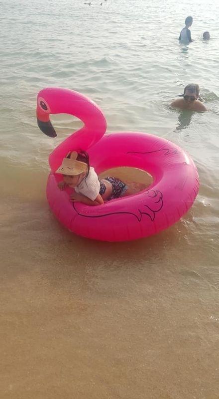 今年暑假特別安排了沖繩之旅,享受南國的陽光、沙灘、比基尼。 #暑假生活