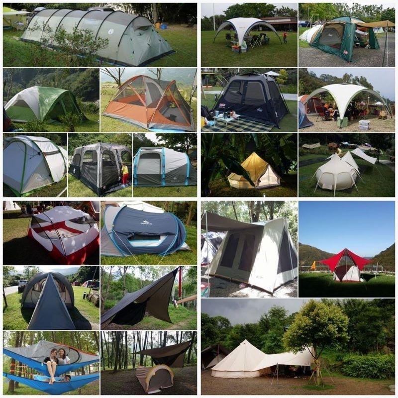 露營那麼多年的小堅持 每個帳篷都要用看看