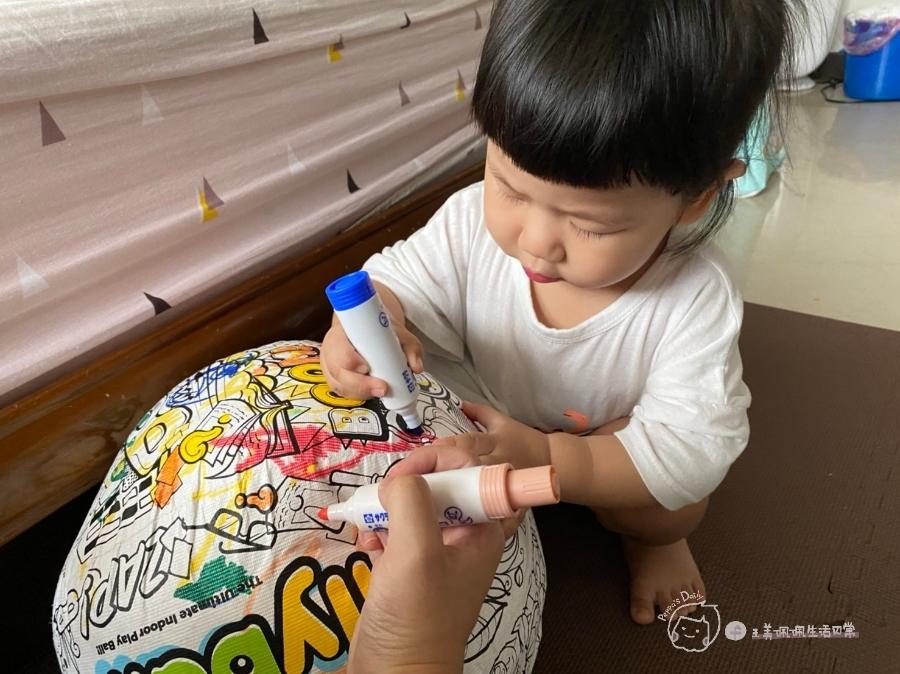 疫情期間孩子如何玩|親子放電遊戲,在家玩球超fun心!室內安心玩的玩具-美國歐力球_img_24