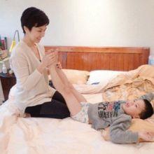 親子按摩─學習寶貝自己及別人的身體
