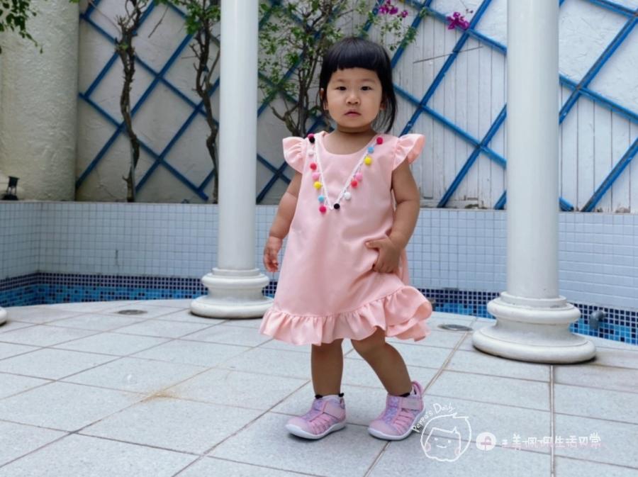 寶寶的第一雙日本IFME機能童鞋 夏天就該有一雙透氣水涼鞋_img_18