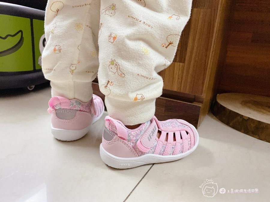 寶寶的第一雙日本IFME機能童鞋 夏天就該有一雙透氣水涼鞋_img_31