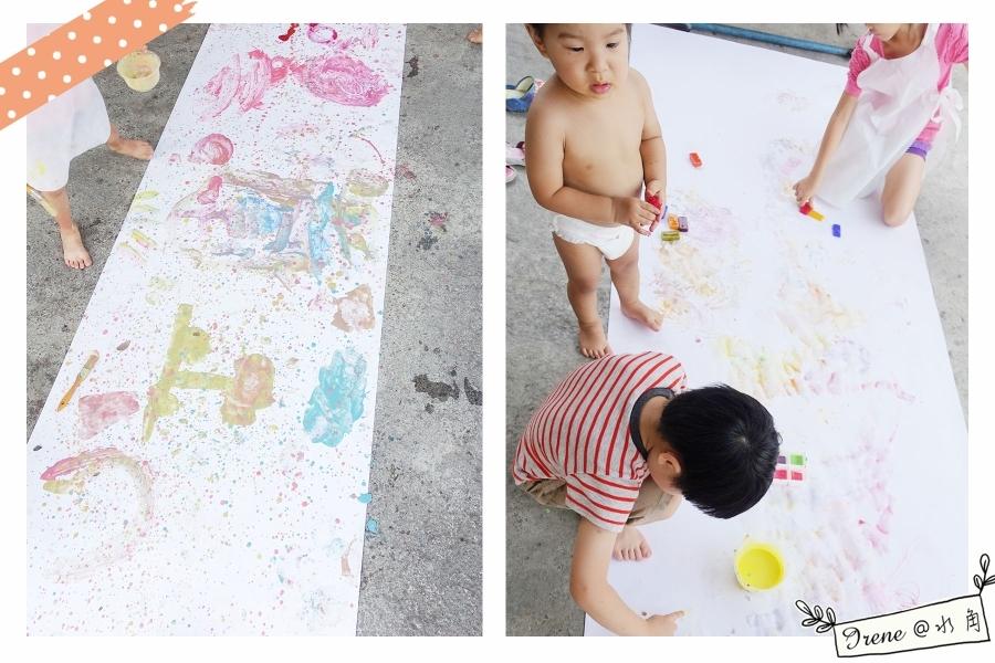 【藝起玩樂 DIY】夏日遊戲, 色彩繽紛冰塊畫 ~製作分享_img_12