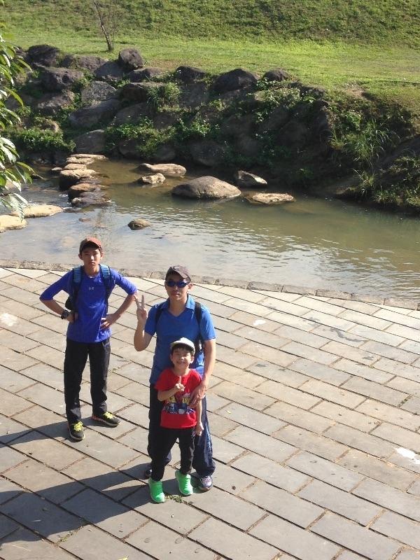 大年初四,全家來到內湖大溝溪親水步道,迎接自然芬多精,探訪寧靜秘境! #親子旅遊