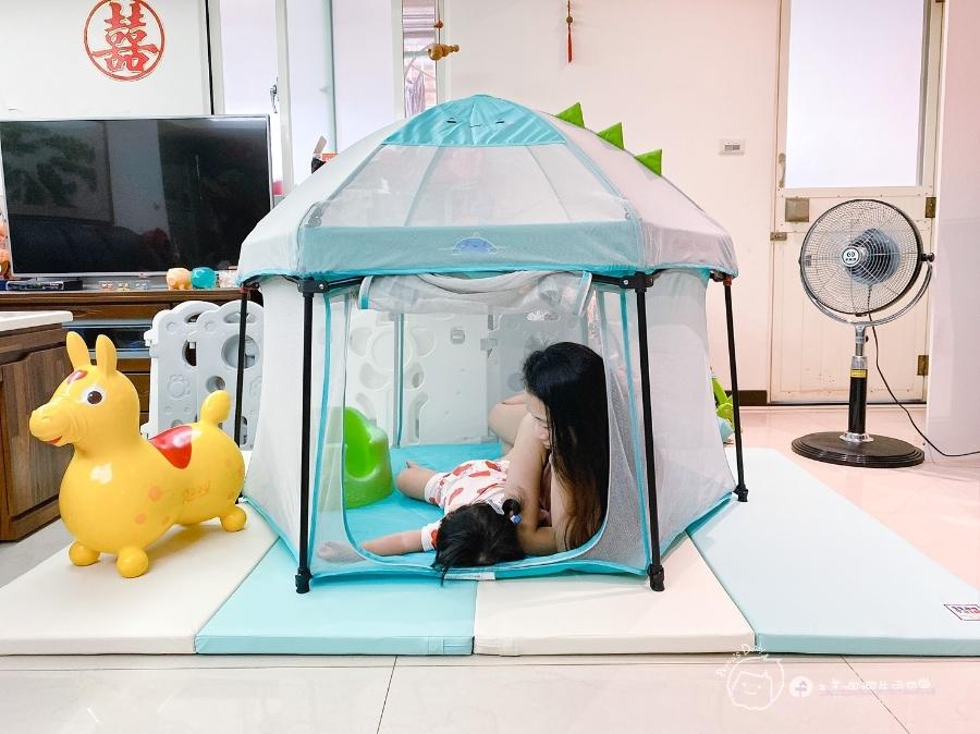 育兒好物 室內外都能用的孩子安全快樂小天地-小鹿蔓蔓折疊遊戲圍欄_img_37