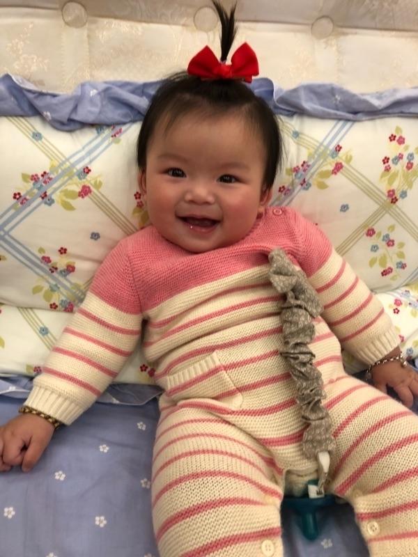 菲菲,妳開心的笑容是爸比媽咪化解辛勞的泉源。#爸爸去哪兒😘 #萌娃 #爸爸去哪兒