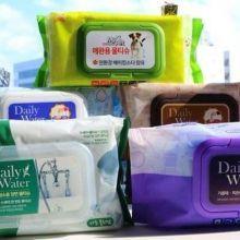 【開箱】韓國DAILY WATER濕紙巾菜瓜布 居家掃除妙方「一張」輕鬆搞定