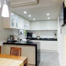 廚房設計大革命.開放式廚房的空間放大術