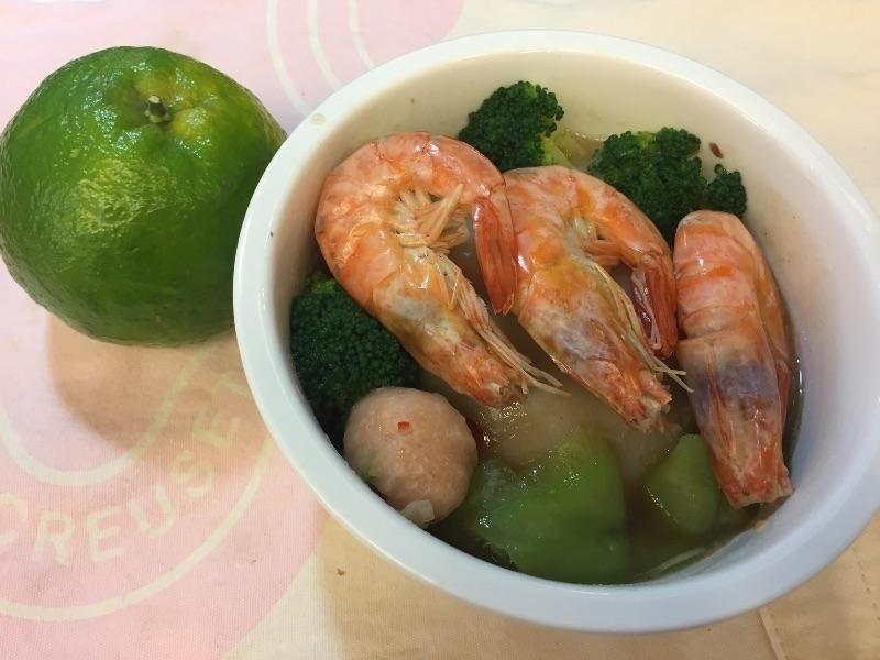 今日午餐是台南來的碗粿,很美味的! #狐狸便當