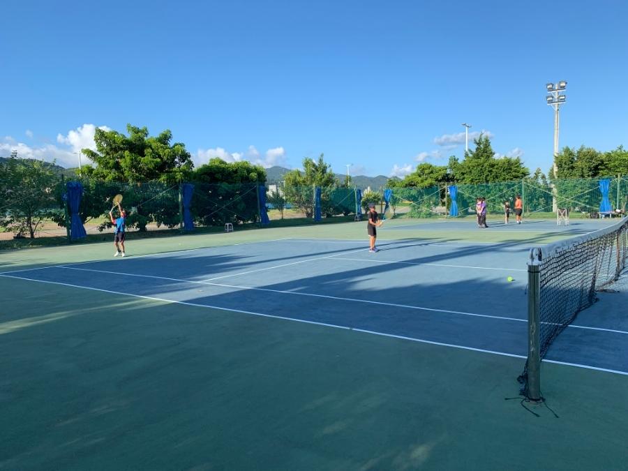 機器營+網球