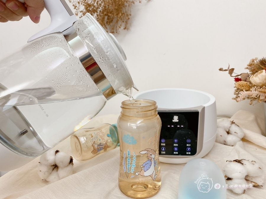 泡奶幫手|隨時提供最佳溫度-Snow Bear韓國小白熊智敏恆溫調乳器,一機多用超方便_img_17