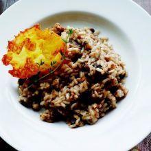 不用去西餐廳,在家就能享用義式牛肝菌菇燉飯