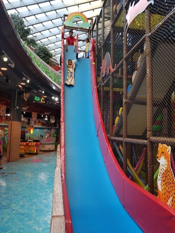 帶寶貝挑戰惡魔溜滑梯 #暑假生活 #恐怖溜滑梯