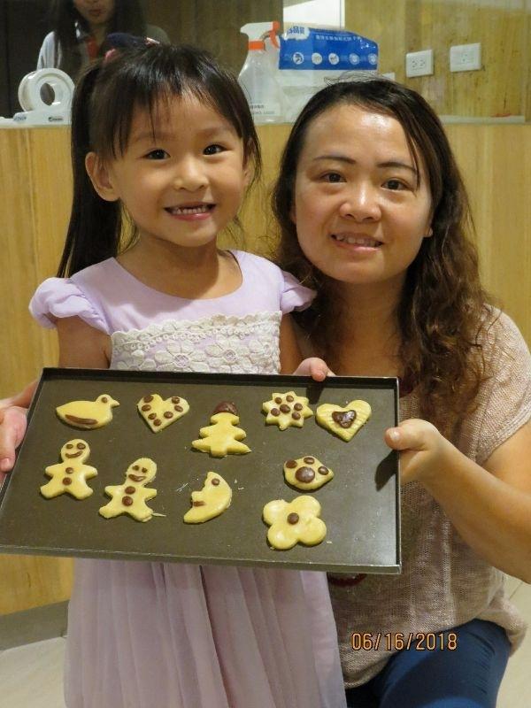 暑假帶孩子去掬水軒做手工餅干,有的吃又好玩 #暑假生活