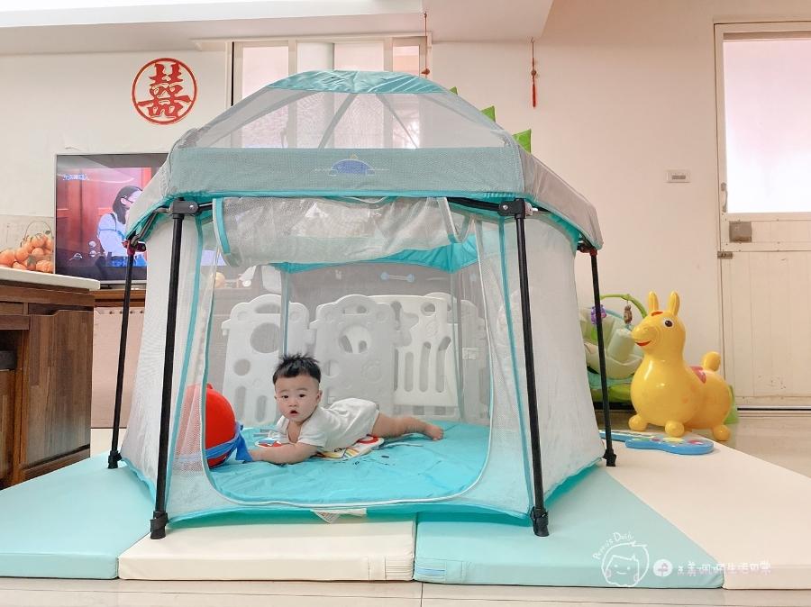 育兒好物 室內外都能用的孩子安全快樂小天地-小鹿蔓蔓折疊遊戲圍欄_img_3