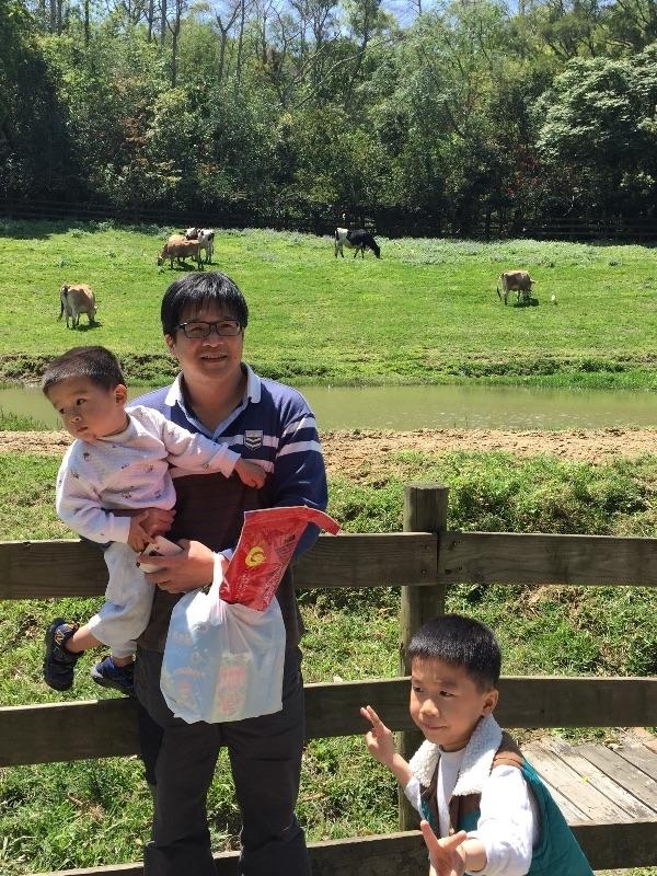 過年期間最常去的地方當然就是去廟裏拜拜,順便去牧場讓小朋友跑跑 #親子旅遊