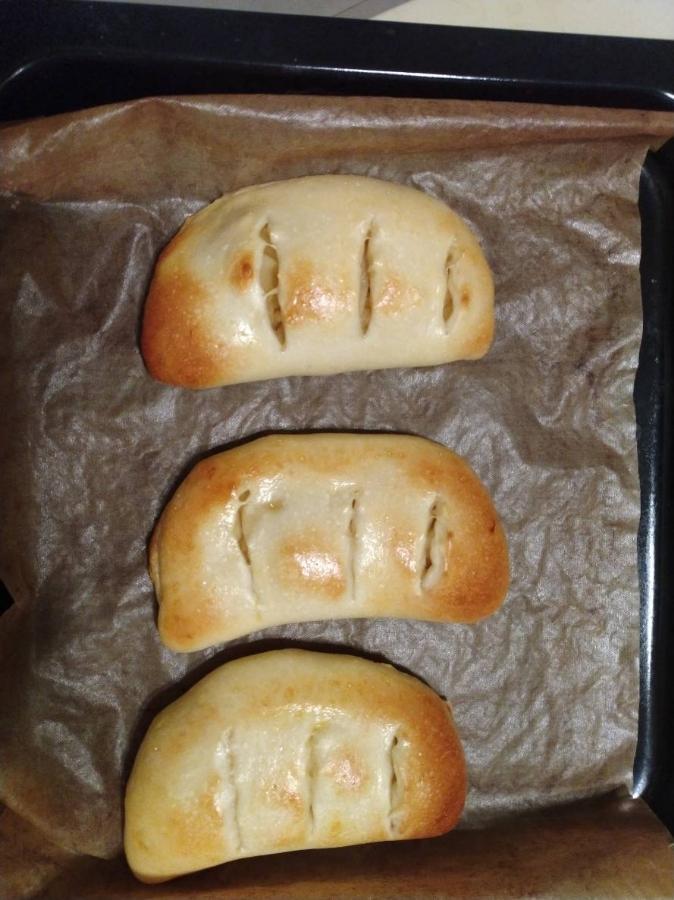 香甜蘋果麵包