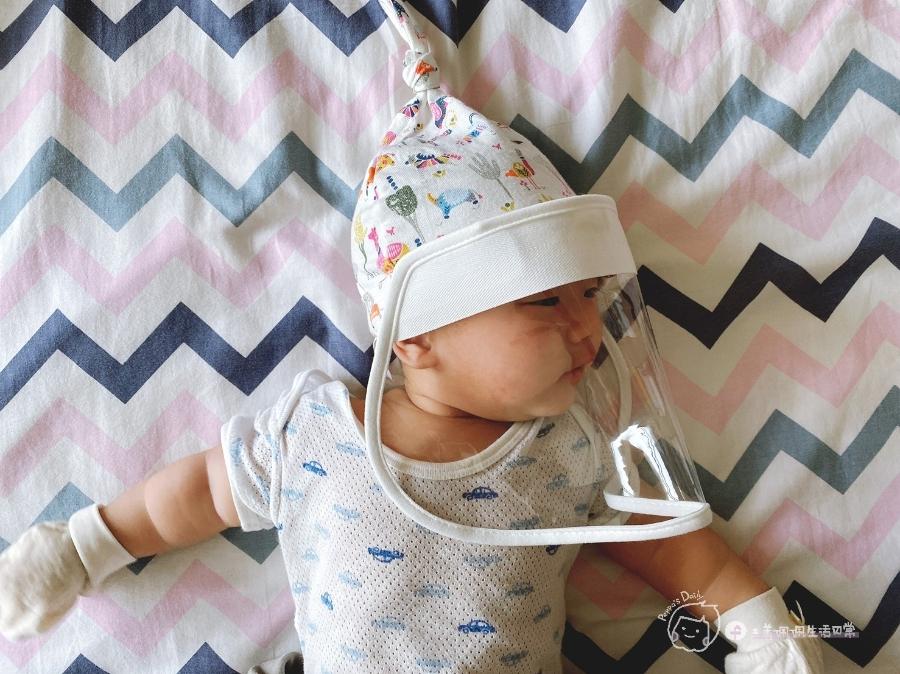 防疫生活|家有新生兒必備!寶寶專屬防疫帽😷_img_19