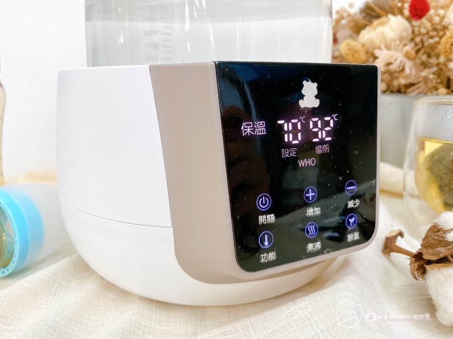 泡奶幫手|隨時提供最佳溫度-Snow Bear韓國小白熊智敏恆溫調乳器,一機多用超方便_img_15