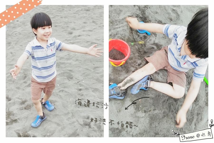 【IFME運動機能水涼鞋】水陸兩用超強大!寶貝開心玩超嗨~_img_18