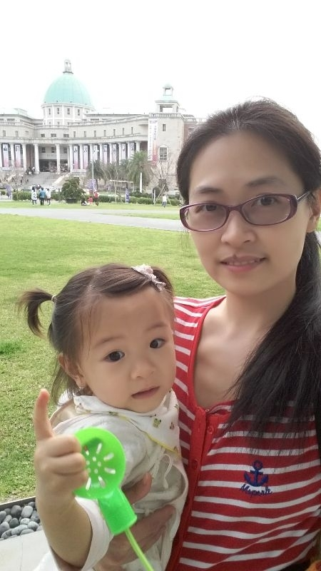 新春出遊,全家一起玩最快樂了! 回外婆家,到附近的亞洲大學走走! #親子旅遊