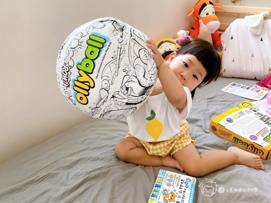 疫情期間孩子如何玩|親子放電遊戲,在家玩球超fun心!室內安心玩的玩具-美國歐力球_img_19