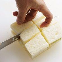 除了三角型之外,原來吐司還有這麼多種切法