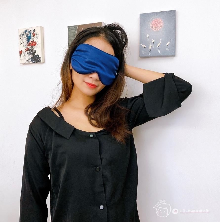 完美補眠|隨時都能睡美容覺-愛馬仕等級的100%頂級桑蠶絲真絲眼罩+枕套_img_21