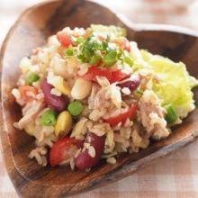 在國外大受歡迎♡用糙米做的「穀物沙拉」之健康食譜♪
