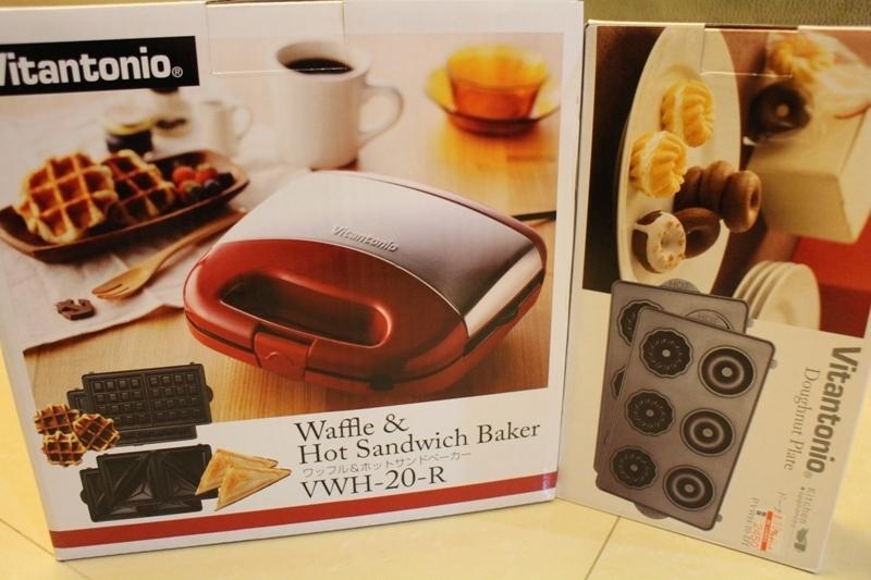 Vitantonio鬆餅機。不專業開箱