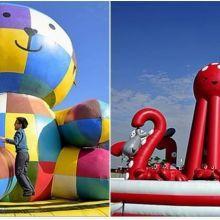 高雄夢時代【Art-Zoo Taiwan 藝術動物園】—玩心大爆發。藝起玩氣墊