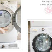惠而浦 滾筒洗衣機、滾筒乾衣機 蒸氣深層洗淨、冷風清新除皺