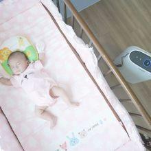 【育兒開箱】PHILIPS 飛利浦舒眠抗敏空氣清淨機(AC1213)。寶貝安心入眠好清淨。有效過濾99%髒空氣