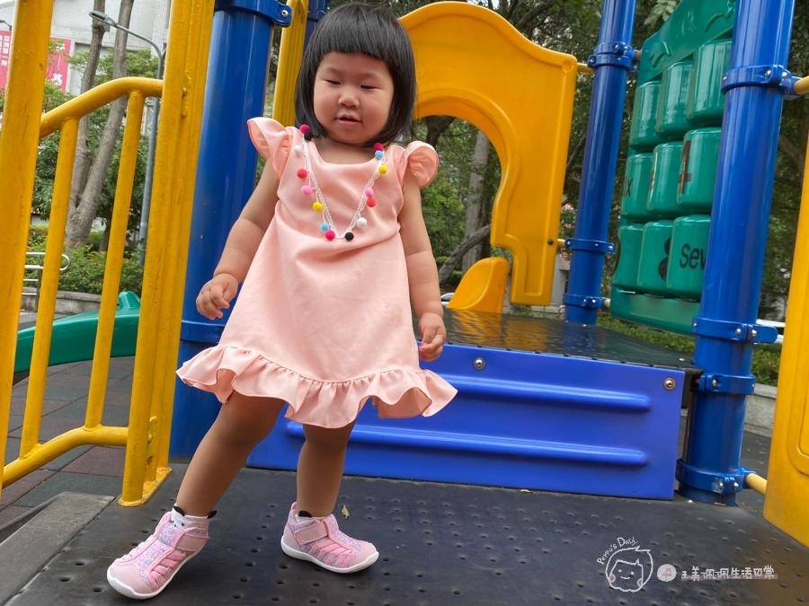 寶寶的第一雙日本IFME機能童鞋 夏天就該有一雙透氣水涼鞋_img_44