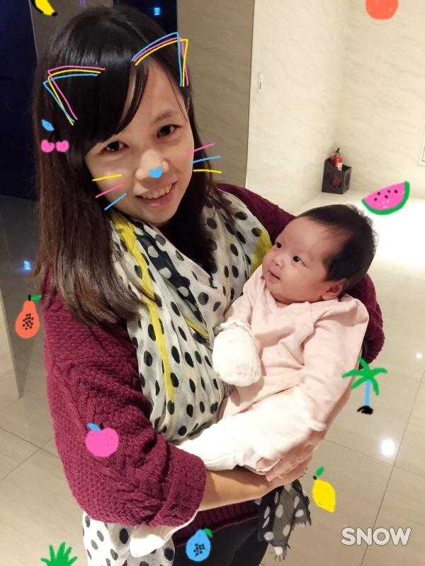 #新生兒報到 謝謝妳來當我的寶貝!