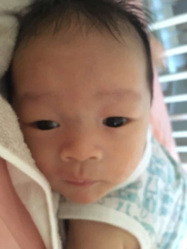 #新生兒報到 過期寶寶催生出來了