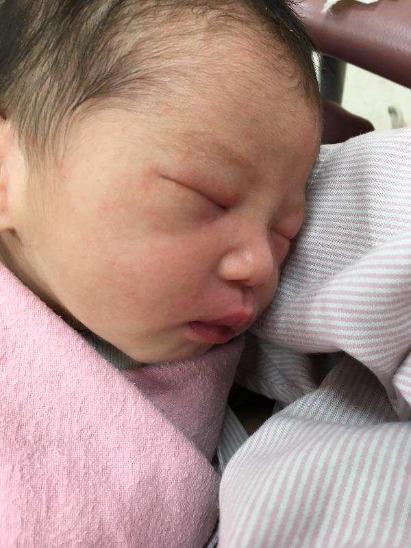 我的寶貝 謝謝你平安的誕生 #新生兒報到