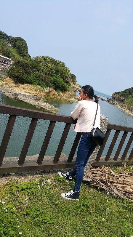 基隆 和平島 天氣晴😉 #親子旅遊