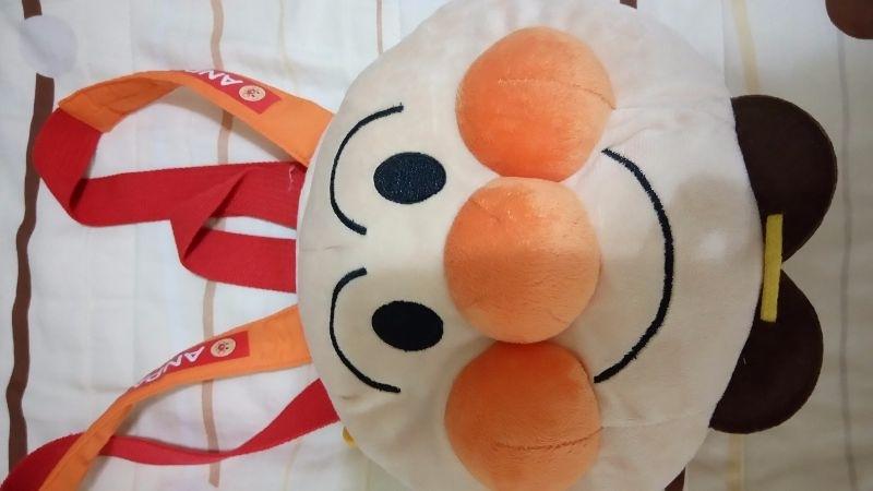 日本帶回 麵包超人背包 9成5新 售$100