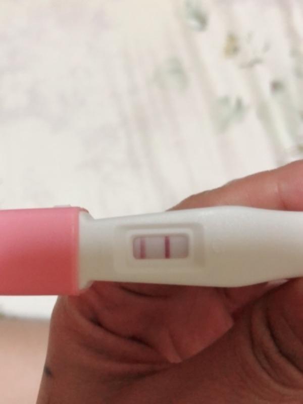 噩夢的兩條線 這兩條線在無時無刻的告訴我 我還在子宮外孕中#懷孕